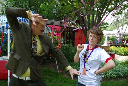 Lauren Scott and Doctor Toboggans at Memphis Children's Theatre Festival