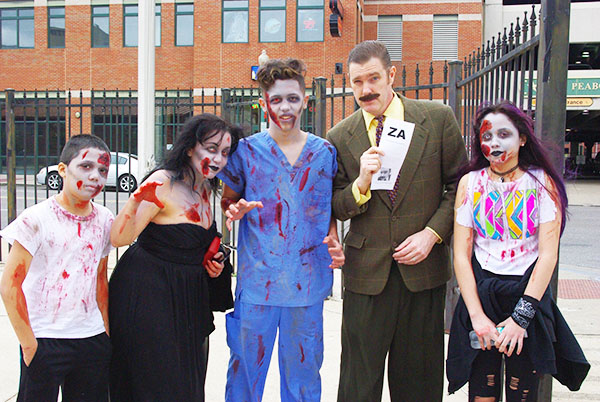 Harold Toboggans cures a zombie family